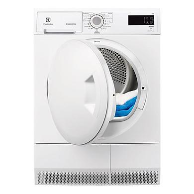 Máy Sấy Cửa Trước Electrolux EDC2086PDW (8kg) - Trắng - Hàng Chính Hãng