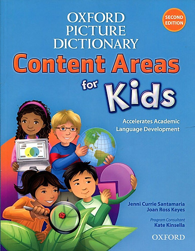 Oxford Picture Dictionary For Kids: Monolingual English Dictionary (2 Ed.)