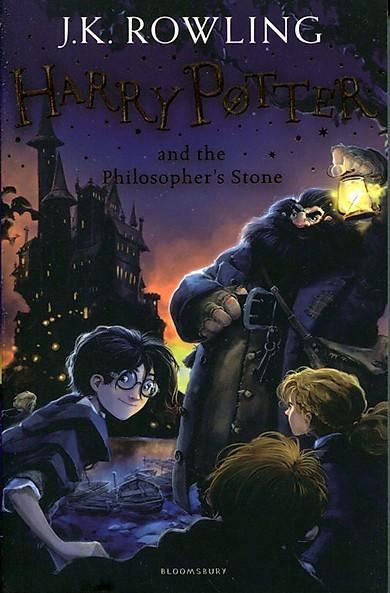 Harry Potter Part 1: Harry Potter And The Philosopher's Stone (Paperback) (Harry Potter và Hòn đá phù thủy) (English Book)