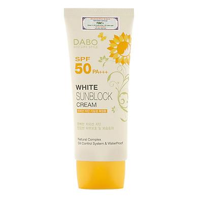Kem Chống Nắng Dưỡng Da Dabo White Sunblock Cream SPF 50 PA+++ (70ml)