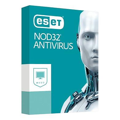 Phần Mềm Diệt Virut Eset NOD32 ANTIVIRUS9 1U1Y Bản Quyền 1 Máy/ Năm - Hàng chính hãng