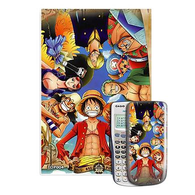 Decal Máy Tính Casio One Piece 004