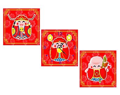 Tranh Đồng Hồ Vicdecor DHT0111 – Phúc Lộc Thọ 1