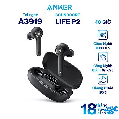Tai Nghe Bluetooth True Wireless Anker SoundCore Life P2 A3919 – Hàng Chính Hãng