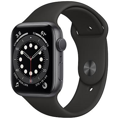 Đồng Hồ Thông Minh Apple Watch Series 6 GPS Only Aluminum Case With Sport Band (Viền Nhôm & Dây Cao Su) – Hàng Chính Hãng VN/A