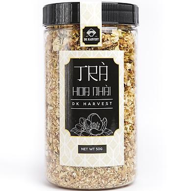 Trà Hoa Nhài Khô Nguyên Bông DK Harvest - 50g - giúp bạn ăn ngon ngủ kĩ hơn, tinh thần sảng khoái, tập trung trí tuệ