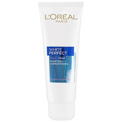 Sữa Rửa Mặt Trắng Da L'Oreal White Perfect (100ml)