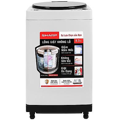 Máy giặt Sharp 8.2 kg ES-W82GV-H – Chỉ giao HCM