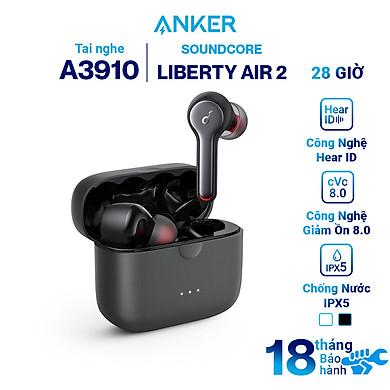 Tai Nghe Bluetooth True Wireless Anker Soundcore Liberty Air 2 A3910 – Hàng Chính Hãng