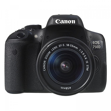 Máy Ảnh Canon 750D + Lens 18-55 IS STM (Lê Bảo Minh) - Hàng Chính hãng