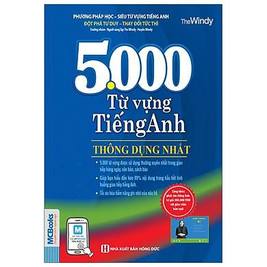 5.000 Từ Vựng Tiếng Anh Thông Dụng Nhất (Tái Bản 2020)