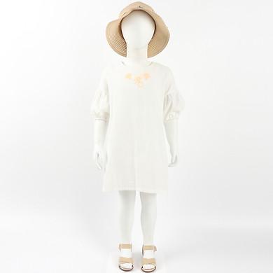 Váy Đầm Bé Gái Tay Lỡ - Nhập Khẩu Hàn Quốc