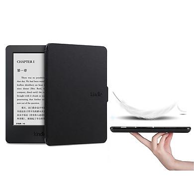Bao Da Case Cover Cho Máy Đọc Sách Kindle 2019 (All New Kindle 2019 10th) Màu Đen