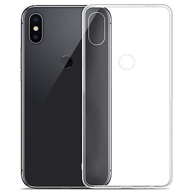 Ốp lưng cho Xiaomi Note 6 Pro silicone trong không ố vàng - Hàng Chính hãng