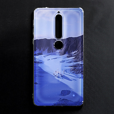 Ốp lưng cứng in hình dành cho Nokia 6.1, Nokia 6 2018 - mẫu 51