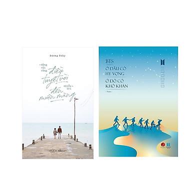 Combo 2 cuốn: Đừng Vội Vàng, Điều Tuyệt Vời Nhiều Khi Đến Muộn Màng + BTS - Ở Đâu Có Hy Vọng Ở Đó Có Khó Khăn
