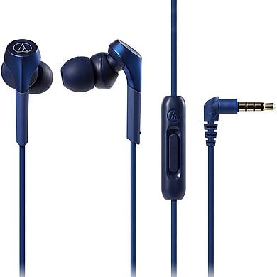 Tai Nghe Có Dây Nhét Tai Audio Technica Solid Bass ATH-CKS550XiS - Hàng Chính Hãng