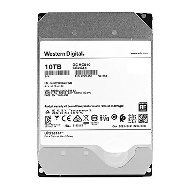 Ổ cứng HDD Western Digital Ultrastar 10TB 3.5 inch Sata 3  - Hàng Nhập Khẩu