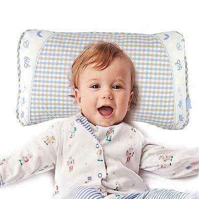 9i9 baby pillow children's cotton buckwheat long pillow 0-3 years old 40cm1800514
