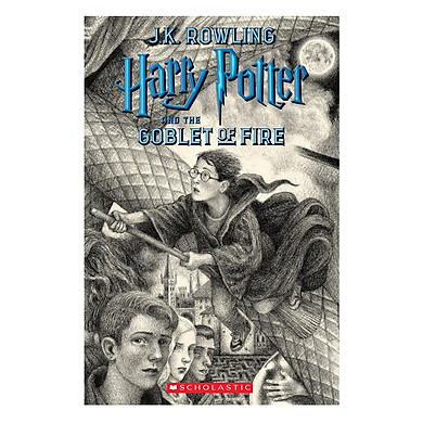 Harry Potter Part 4: Harry Potter And The Goblet Of Fire (Paperback) Harry Potter và Chiếc cốc lửa (English Book)