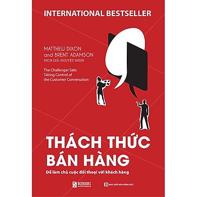 Sách Thách thức bán hàng-Sách Kinh Doanh-Kinh Tế