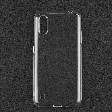 Ốp lưng silicon dẻo trong suốt Loại A cao cấp cho Samsung Galaxy A01