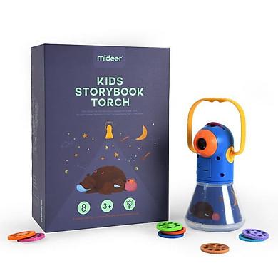 Đèn pin kể chuyện Mideer chính hãng mẫu mới 8 truyện - Đồ chơi sáng tạo cho bé