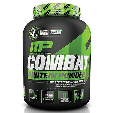 MusclePharm Combat Protein Powder provides protein, best tip for muscle growth