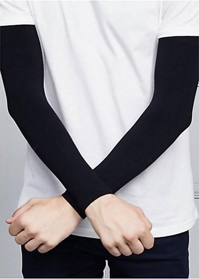 Găng tay chống nắng nam nữ chống tia UV, xỏ ngón được, làm mát da