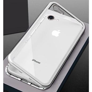 Ốp lưng kính trong suốt LIKGUS 360 độ hít nam châm iPhone 7 - Hàng chính Hãng