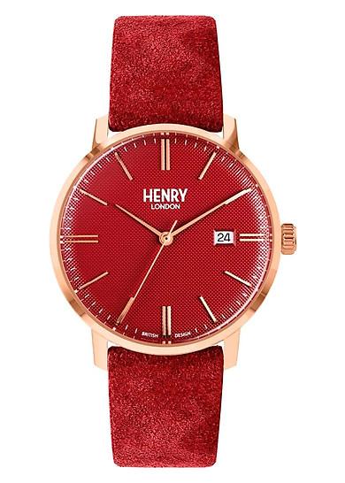 Đồng Hồ Unisex Henry London HL40-S-0366 - Dây Da