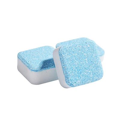 Bộ 6 Viên Tẩy Lồng Máy Giặt Khử Sạch Cặn Bẩn, Khử Mùi Lồng Máy