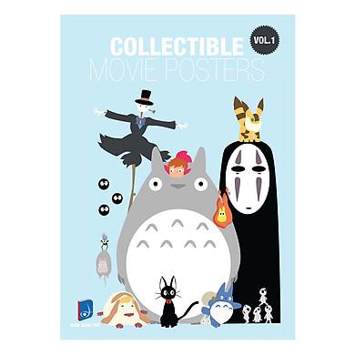 Postcard Artbook Collectibe Movie Posters  - Vol 1