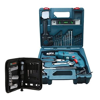 Bộ máy khoan động lực Bosch GSB 550 MP SET 19 chi tiết + Bộ vặn vít đa năng Bosch 38 món