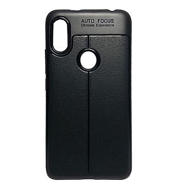 Ốp Lưng cao cấp Auto Focus giả da cho điện thoại XIAOMI: Mi A2, Mi Max 2  (Màu Đen)