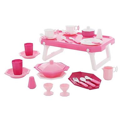 Bộ đồ chơi nấu ăn Retro 29 chi tiết kèm bàn - Wader Toys