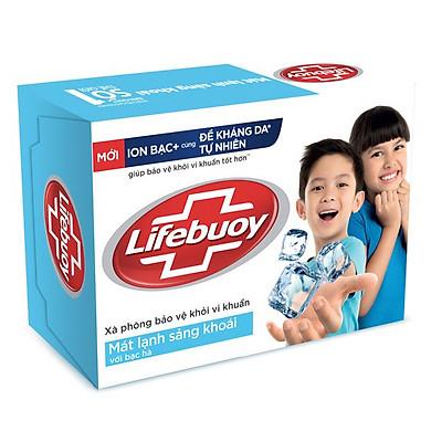 Xà Bông Cục Diệt Khuẩn Lifebuoy Mát Lạnh Sảng Khoái 21126120 (90g)