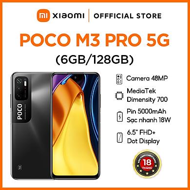 Điện thoại Xiaomi POCO M3 Pro 5G – Hàng Chính Hãng