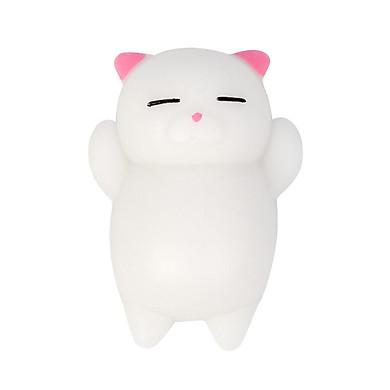 Gobestart Cute Mochi  Cat Squeeze Healing Fun Kids Kawaii Toy Stress Reliever Decor