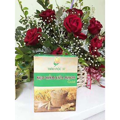 2 Hộp kẹo mầm lúa mạch Gold Thảo Mộc 37