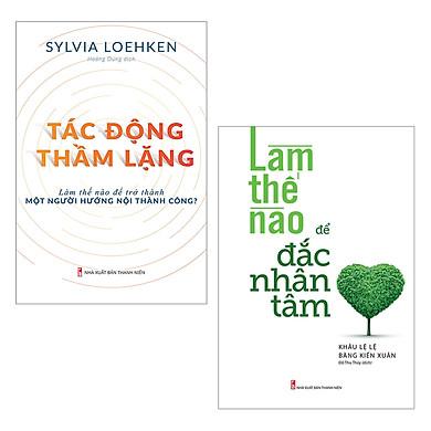 Combo Sách Nghệ Thuật Hướng Nội: Tác Động Thầm Lặng, Làm Thế Nào Để Đắc Nhân Tâm