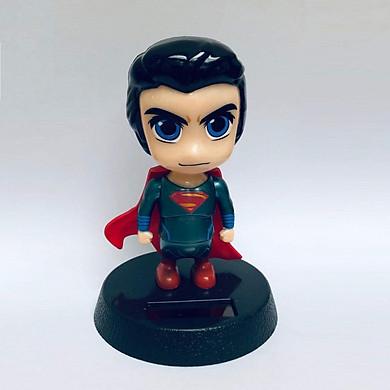 Mô hình trang trí thú đầu lắc - Super man