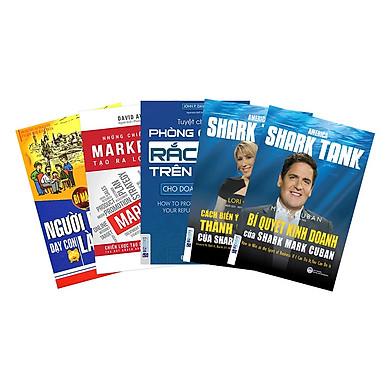 Combo 4 Cuốn Bí Quyết Kinh Doanh, Marketing Và Bán Hàng