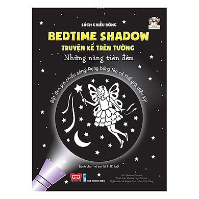 Sách Tương Tác - Sách Chiếu Bóng - Bedtime Shadow – Truyện Kể Trên Tường - Những Nàng Tiên Đêm