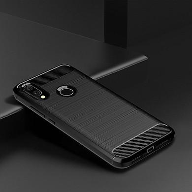 Ốp lưng chống sốc dành cho Xiaomi Redmi Note 7 Vân Sợi Carbon