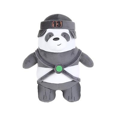 Gấu đồ chơi Miniso Bare Bears Hat Ice Bear - Hàng chính hãng
