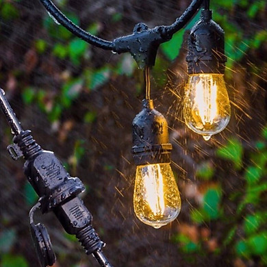 Dây bóng đèn SÁNG ĐẸP ngoài trời 10 bóng