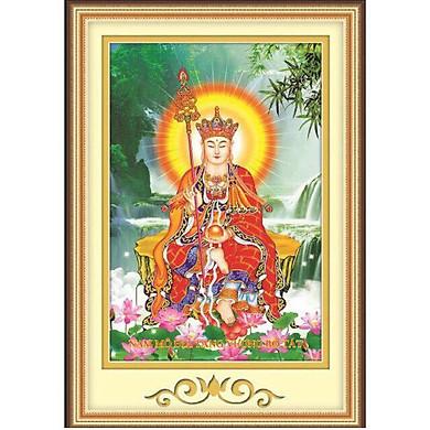 Tranh đính đá Địa tạng vương ( chưa đính) - 88697