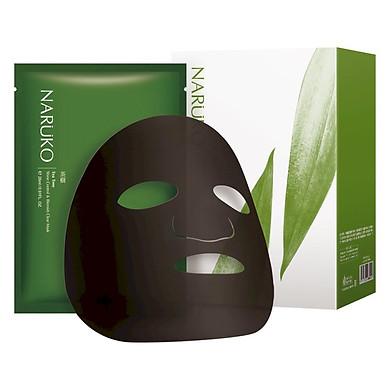 Mặt Nạ Kiểm Soát Dầu Và Mụn Naruko Tràm Trà Bản Đài – Tea Tree Shine Control And Blemish Clear Mask (8 Miếng / Hộp)