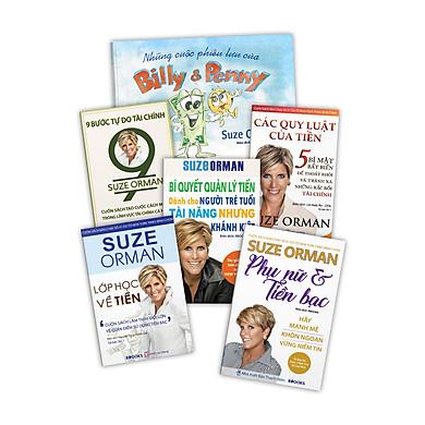 Bộ Sách Bí Quyết Quản Lý Tài Chính Cá Nhân 6 Cuốn: 9 Bước Tự Do Tài Chính + Các Quy Luật Của Tiền + Lớp Học Về Tiền + Phụ Nữ & Tiền Bạc + Bí Quyết Quản Lý Tiền Dành Cho Người Trẻ Tuổi Tài Năng Nhưng Khánh Kiệt + Những Cuộc Phiêu Lưu Của Billy & Penny